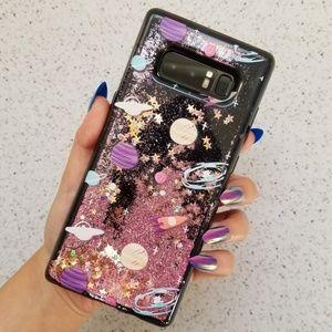 Accessories - Samsung Planet Glitter Case